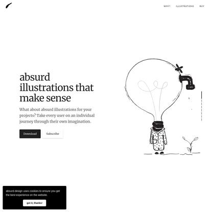 Absurd Design - Free Surrealist Illustrations and Vector Art