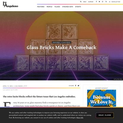 Glass Bricks Make A Comeback | Los Angeleno