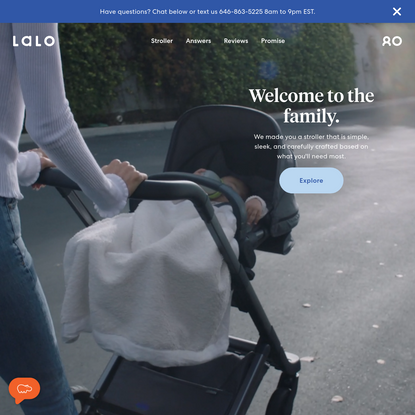 Lalo | A Modern Baby and Toddler Brand | Explore The Daily Stroller