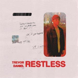 TREVOR DANIEL 'RESTLESS' 🦋☄️ Album drops at midnight. Art direction by me.