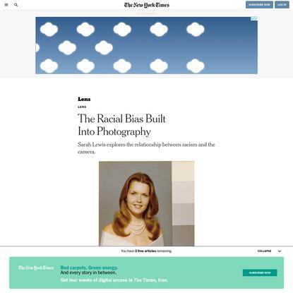 The Racial Bias Built Into Photography
