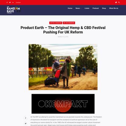 The Original Hemp & CBD Festival Pushing For UK Reform