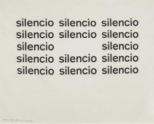 Eugen Gomringer, Untitled, 1955, 1990