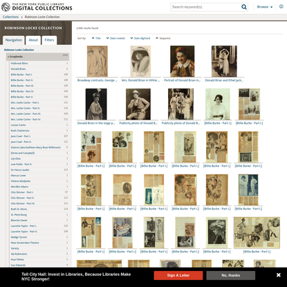 Robinson Locke Collection - NYPL Digital Collections