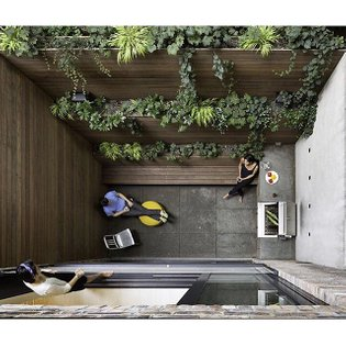 Making the most of a 90-square-foot patio in Manhattan. Photo by Chris Cooper @ccooperny #dwell #manhattan #patio