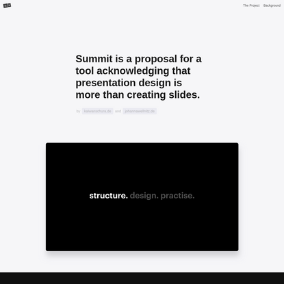 Summit - Presentations Revised