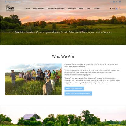 Home - Cavaleiro Farm