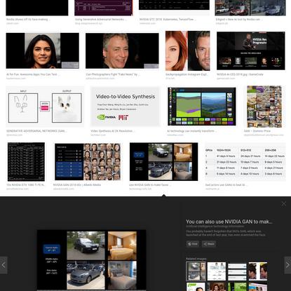 nvidia gan - Google Search