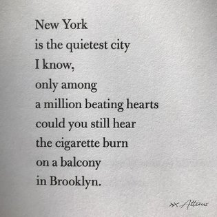 I just love New York, do you? Xx⠀⠀⠀⠀⠀⠀⠀⠀⠀ ⠀⠀⠀⠀⠀⠀⠀⠀⠀ #poetry #poem #quotes #love #lovequotes #poet #poems #writers #atti...