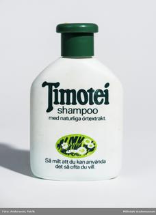 Förpackning m. schampo