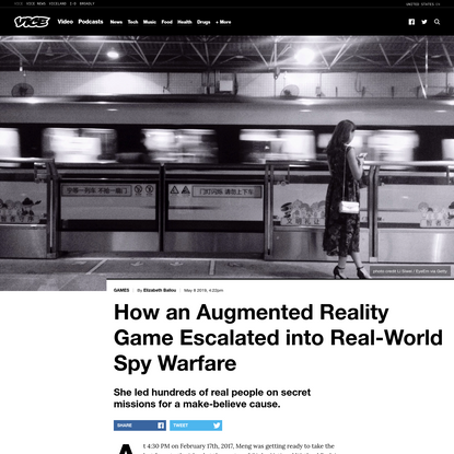 How an Augmented Reality Game Escalated into Real-World Spy Warfare