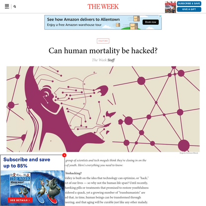 Can human mortality be hacked?