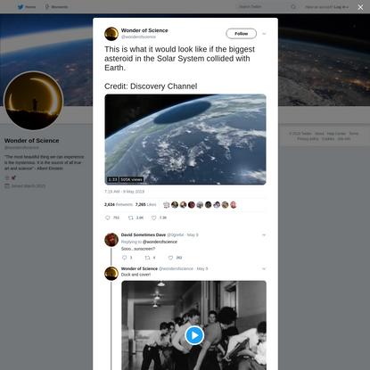 Wonder of Science on Twitter
