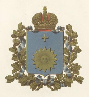 Герб Подільської губерні, 1856