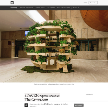 SPACE10 open sources The Growroom