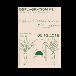 Affiche pour un super concert le 5 décembre à l'Olympic Café ! . . . . . . . . . . . . #illustration #art #drawing #draw #gr...