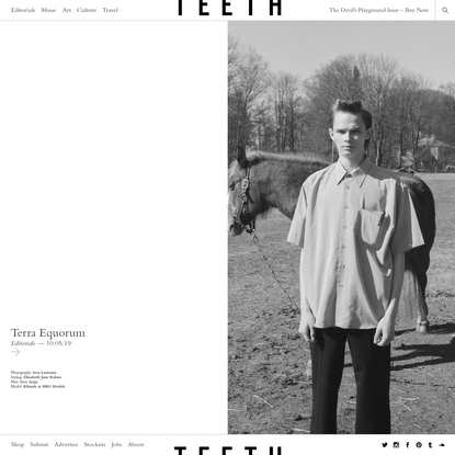 Teeth Magazine | Subversive Fashion, Music, Art, & Culture