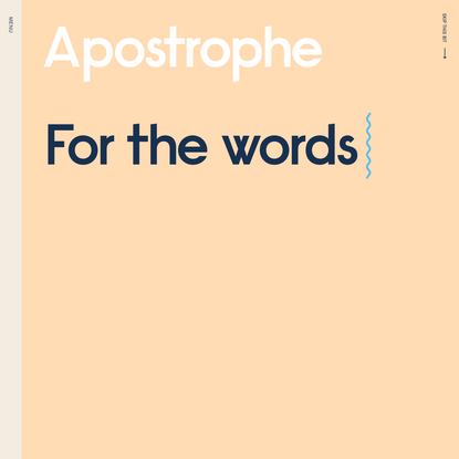 Apostrophe Copywriters | For the words you're missing