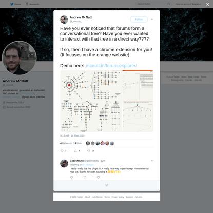 Andrew McNutt on Twitter