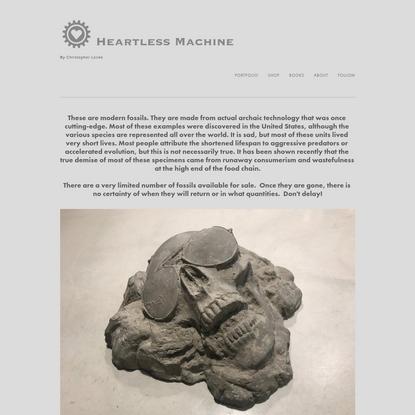 Modern Fossils - Heartless Machine