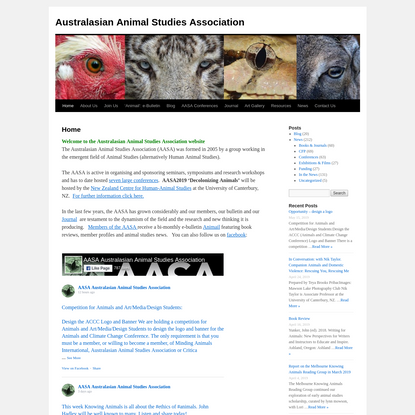 Australasian Animal Studies Association