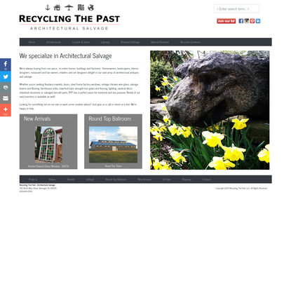 Recyling The Past, Architectural Salvage