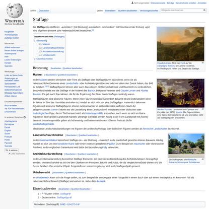 Staffage - Wikipedia