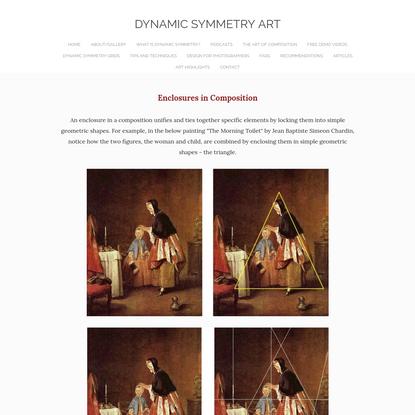 Enclosures in Composition