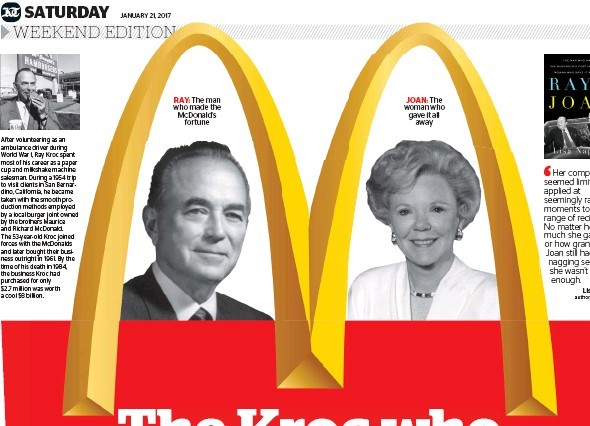 Ray and Joan Kroc