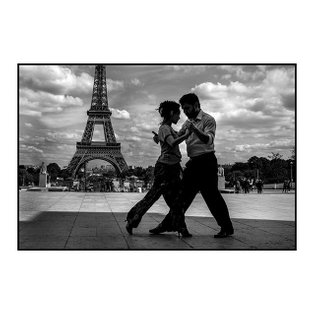 ⁣ Never the last tango in Paris. ⁣ ⁣ Two tango dancers from Buenos Aires, both living in Paris, come to dance together at Tr...