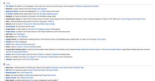 List of Fictional Islands