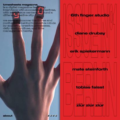 Timesheets Magazine - Berlin Issue