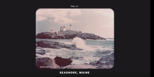 Image of the Maine Seashore on NASA's Golden Record