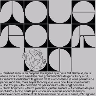""""""" Un pour tous, tous pour un """". Discover our new contribution for @b_i_l_d_u_n_g #athos #porthos #aramis #dartagnan #alexand..."""