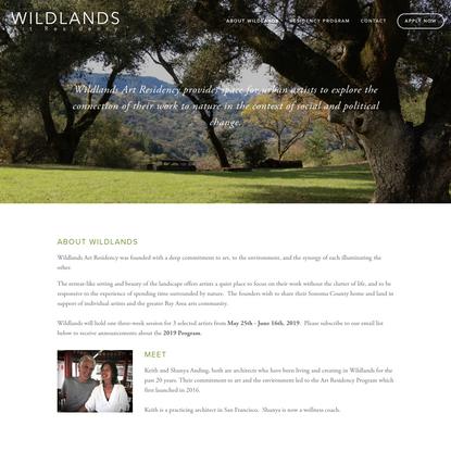 Wildlands Art Residency