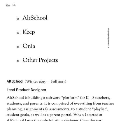 Alex Hollender is a Designer