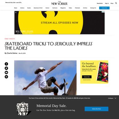 Skateboard Tricks to Seriously Impress the Ladies