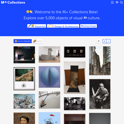 Home - M+ Collections Beta