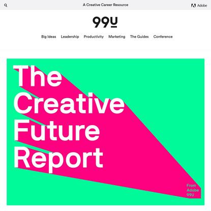 The Creative Future Report