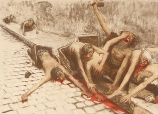 Jean Veber: [Dans le ruisseau], 1894 (деталь)