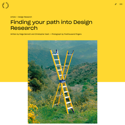 Finding your path into Design Research | Dropbox Design