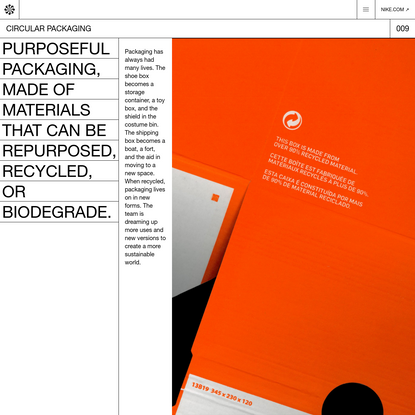 Circular Packaging - Nike Circular Design Guide