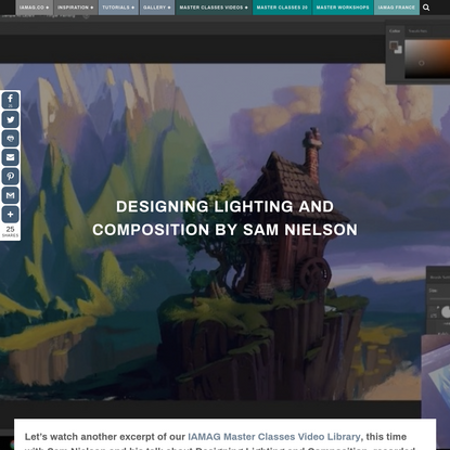 Designing Lighting and Composition by Sam Nielson