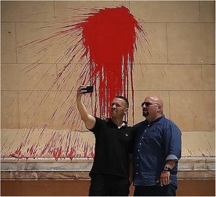 Fascists - selfie - golden dawn - greece