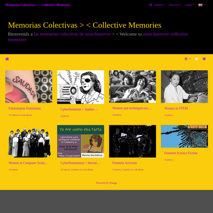 Memorias Colectivas > < Collective Memories