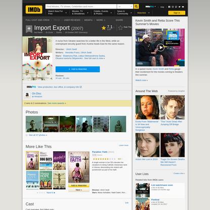 Import Export (2007) - IMDb