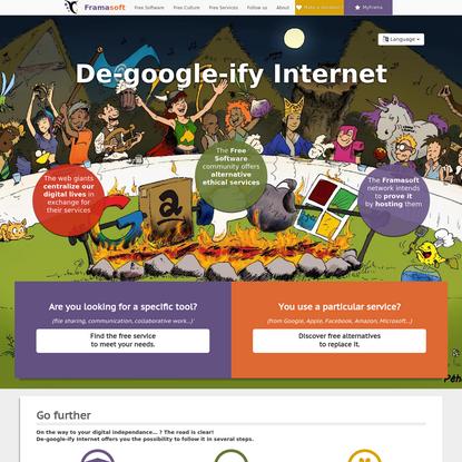 De-google-ify Internet