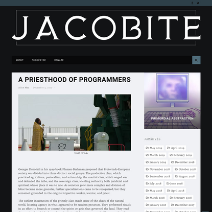 A Priesthood of Programmers