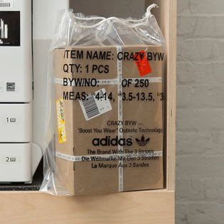 Crazy BYW box for @adidasoriginals, limited edition of 250 (Jan 2018)