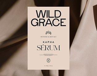 WILD GRACE, Identity / Packaging